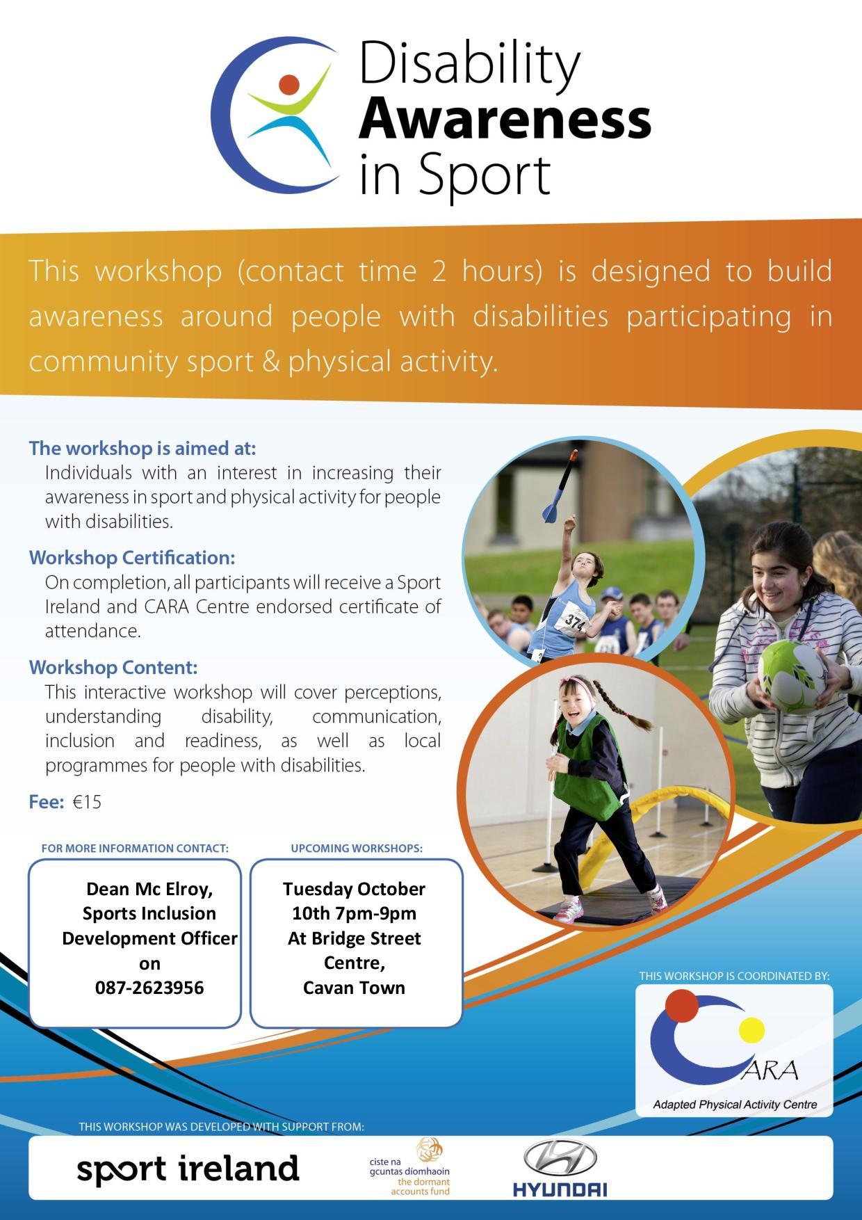 disability awareness workshop